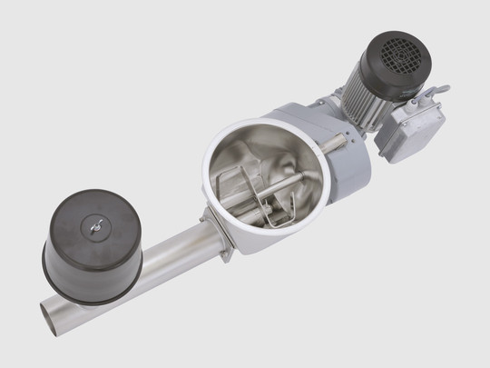 METRO P: Screw discharge module for conveying of non-free-flowing powders