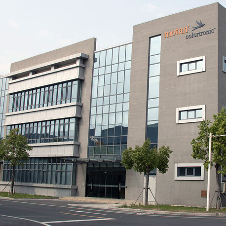 New building for motan-colortronic China