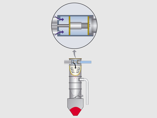 METRO HBS: Vacuum valve with implosion