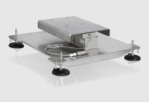 Platform scale with DMS load cell