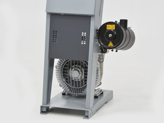 METROVAC swift: Cyclone dust filter / the blower protection filter